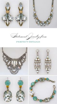 1920's theme, ART DECO Sorrelli Jewelry from Perfect Details + Pin It to Win It Giveaway! Ruffled