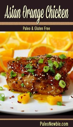 Citrusy and honey sweetened, this bone-in marinated and baked orange chicken is a healthy dish with intense flavors!