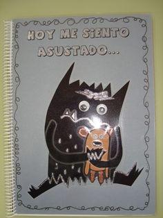 Plastificando ilusiones: Marina Z y El libro del miedo Spanish Classroom, Emotional Intelligence, Batman, Diy Crafts, Superhero, Feelings, Halloween, Fictional Characters, Art