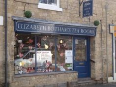 Elizabeth Botham's Team Room, just opposite the North Yorkshire Moors Railway station #pickering