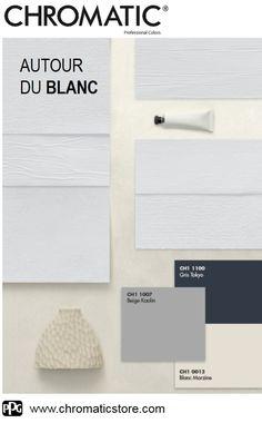 Jouez sur les contrastes #couleurs et matières et créez des #ambiances uniques qui vous ressemblent. www.chromaticstore.com