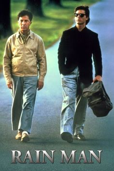 One of my favorite Oscar-winning movies. It has held up over the years, and Cruise and Hoffman give great performances.