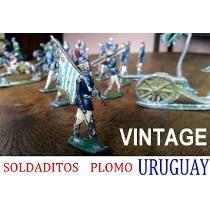 Soldaditos Plomo Raros Vintage Uruguay Antique Juguete