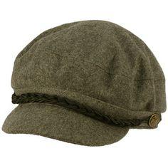 Winter Hats   Men's Greek Fisherman Winter Wool Blend Cabby Driver Hat Flat Cap Gray ...