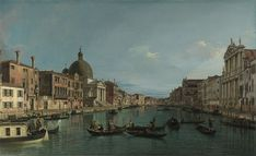 The Grand Canal with S. Simeone Piccolo