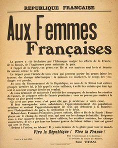 En 1914-1918, pendant que les hommes sont au front, les femmes participent activement à l'effort national. Dans une guerre totale, longue et...