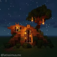 minecraft nature mc houses blueprints creations amazing