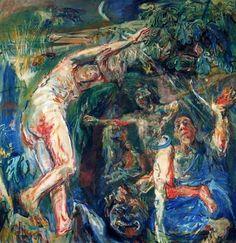 Ciudad de la pintura - La mayor pinacoteca virtual. Oskar Kokoschka., La saga de Prometeo, 1950.