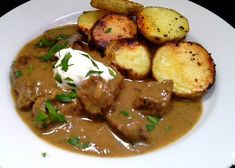 Czech Recipes, Ethnic Recipes, No Salt Recipes, Stew, Food And Drink, Chicken, Baking, Kebabs, Arizona
