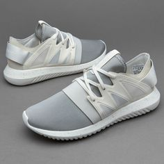 finest selection d1390 ff007 adidas Shoes   Adidas Women S Tubular Viral White Sneakers   Color   Gray White   Size  7