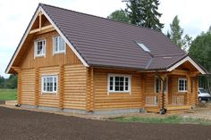 1296 sq ft Log Cabin Home Kit / Package