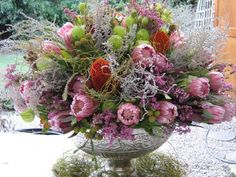 fynbos - this will be our wedding flowers