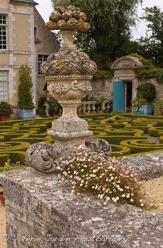 Garden maze ~  Normandy, France