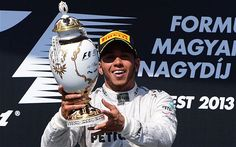 Lewis Hamilton - Lewis Hamilton wins Hungarian Grand Prix from pole position in scorching 50-degree heat