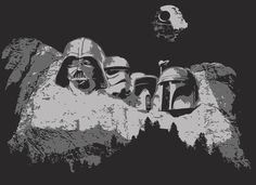 "751 Me gusta, 5 comentarios - Star Wars HD™  (@starwars.hd) en Instagram: ""This piece is titled: ""Empire Mount Rushmore"" . .  @marcelo9539 Shoutout to you! and…"""