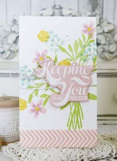 Keeping You Card by Melissa Phillips for Papertrey Ink (April 2016)