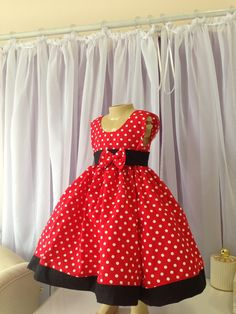 Vestido Minnie da Lilly