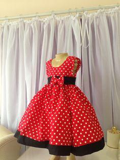 Vestido Minnie da Lilly