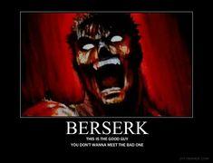 Berserk Motivational Poster by ~Kaoskid1