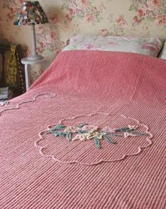 I used to pull the tiny threads out of these things when I would spent the night at my grandparents house. 1970s Childhood, My Childhood Memories, Best Memories, Vintage Love, Retro Vintage, Bedspreads, Chenille Bedspread, Rose Cottage, My Memory