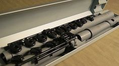 GUO New Voice Flute in C Advanced Quality in Grey