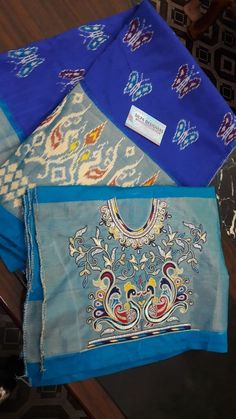 Hand Work Embroidery, Embroidery Designs, Beauty Tips, Beauty Hacks, Maggam Works, Ikkat Saree, Chiffon Saree, Work Blouse, Animal Design