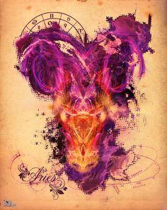 Aries - The Ram Art Print