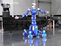 Ball-catching robot (video)