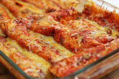 Super easy enchilada recipe