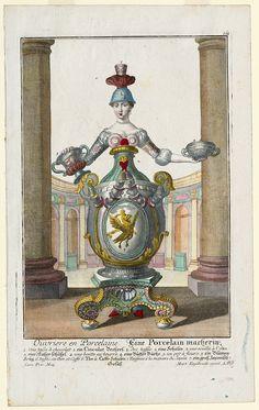 Ouvriere en Porcelaine. Eine Porcelain macherin. (Porcelain maker's wife) Martin Engelbrecht (Engraver)