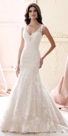 Sexy+V-neck+Mermaid+Wedding+Backless+Beads+Romantic+Champagne+Long+Lace+Wedding+Dress