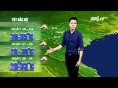 (VTC14)_ Thời tiết 12h ngày 25.04.2016