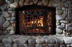 How to Clean Natural Stone Fireplace - important tip - Saturate your stone and grout with water until they no longer absorb the water. If you try cleaning the stones when they are dry, the porous stone and grout may suck the newly liquefied dirt deeper into the stone and grout. By soaking the stone, the dirty liquid will stay on the surface.