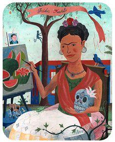 Frida illustration by John Parra