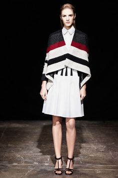 //\\ Thakoon  Pre-Fall 2013.  Soft stripes.