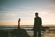 Beach Engagement.  Crystal Cove.  Vis Photography