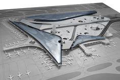 Harbin Airport model - nemesi studio