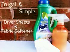 Homemade dryer sheets