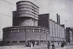 Red Banner Textile Factory, Leningrad [1926 Erich Mendelsohn].