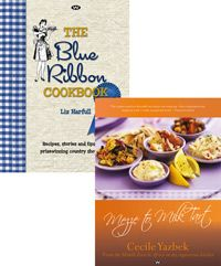 Beat your winter blues with this delicious duo, featuring a variety of recipes from around the globe. The Blue Ribbon Cookbook comprises traditional Australian recipes as well as stories and tips from prize-winning country show cooks. In Mezze to Milk Tart author Cecile Yazbek takes the reader on a transcontinental food journey from the old South Africa to Lebanon, and finally Australia.  Regular Price: AU$74.90  Discounted Price: AU$59.95 Australian Recipes, Australian Food, Milk Tart, Blue Ribbon, Lebanon, South Africa, Globe, Blues, Menu