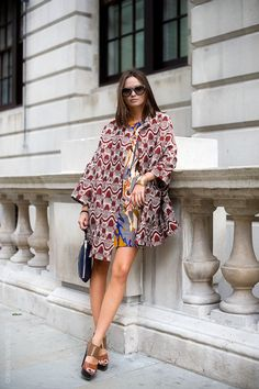Mixed Prints are so on trend right now, this is a great statement piece for any woman's wardrobe.