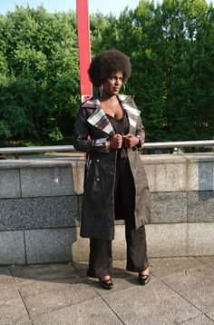 Modèle défilé Lady's&Business  @Missbko Sanaa, Creations, Punk, Lady, Business, Style, Fashion, Atelier, Swag