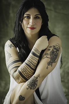 Fascinating tatoos