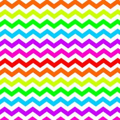 16 different colors available; Neon Chevron Printable From Doodle Craft