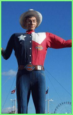 Big Tex, State Fair of Texas, Dallas, Texas