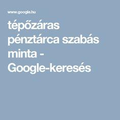 tépőzáras pénztárca szabás minta - Google-keresés
