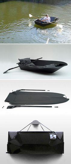 foldboat by { designvagabond }, via Flickr
