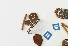 Maccabee Gingerbread Men - Get your gingerbread fix.
