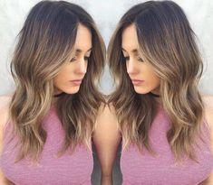 Layered Medium Length Hairstyle