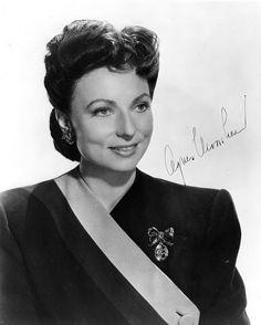 Agnes Moorehead c. 1940s    vava-voom!